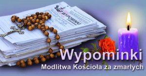modlitwa za zmarłych
